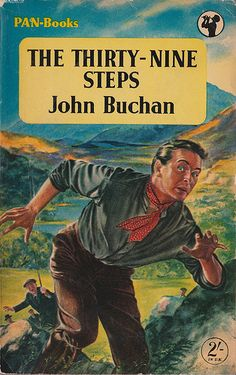 the 39 steps john buchan book cover design pan