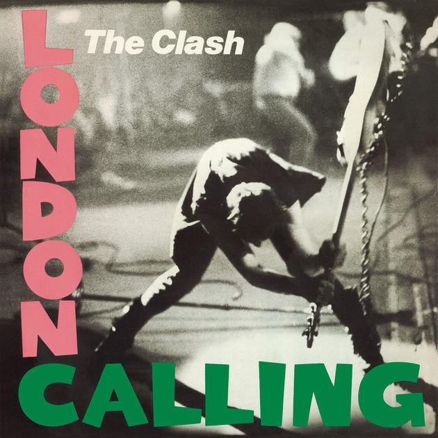the clash london calling record album cover design music