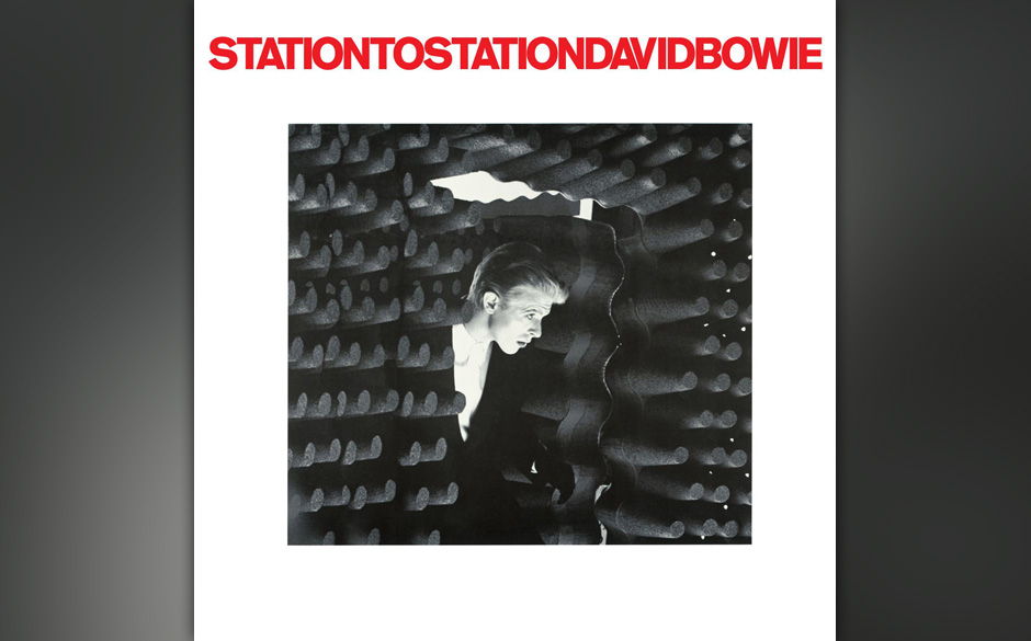 David-Bowie-Station-To-Station record album cover design music