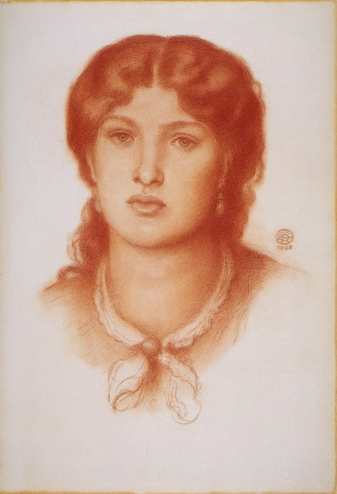 dante gabriel Rossetti-Fanny-Cornforth model painter preraphaelite