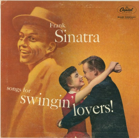 songs for swingin lovers frank sinatra record album cover design music