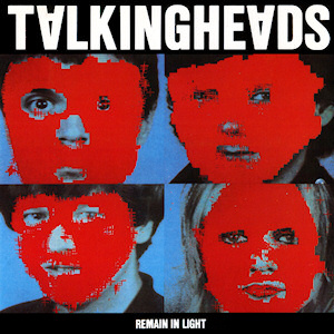 Talking Heads Remain in the Light record album cover design music