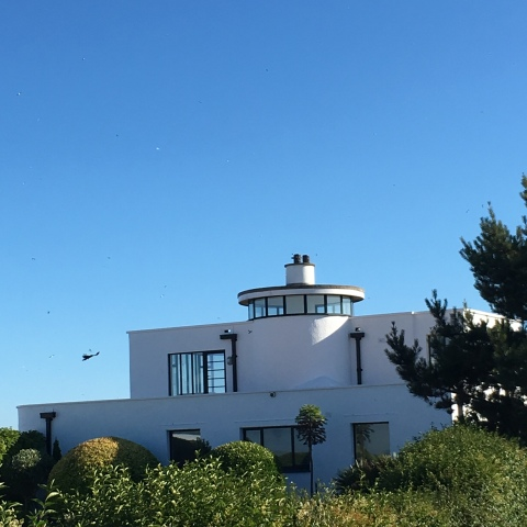 The Sandcastle, Pevensey, East Sussex art deco house