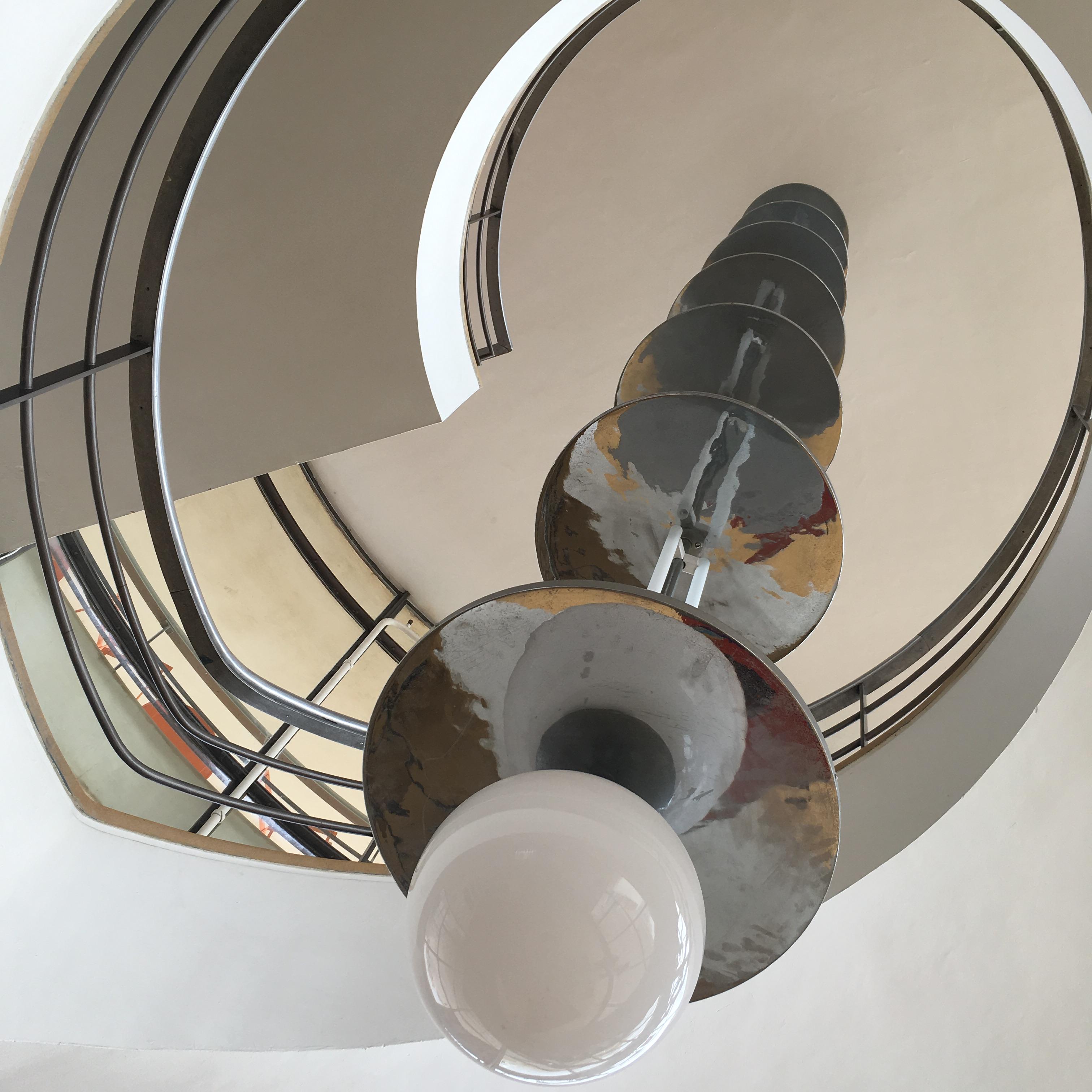 De La Warr Pavilion, Bexhill-on-Sea, East Sussex - interior staircase