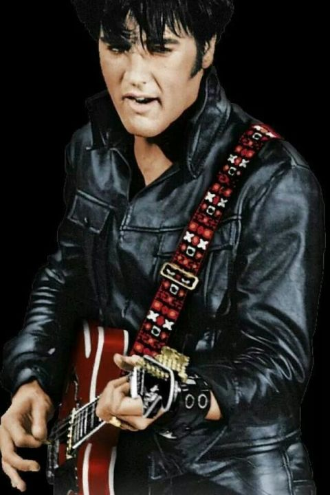 elvis 68 comeback special costume black leather