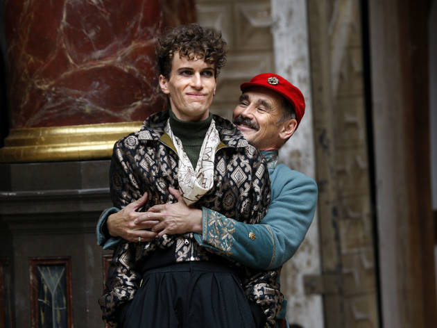 mark rylance actor as iago in othello at the globe theatre july 2018