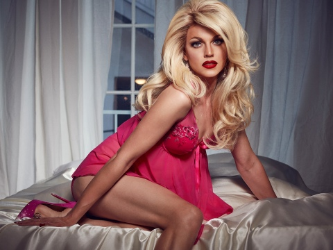 Courtney Act drag queen