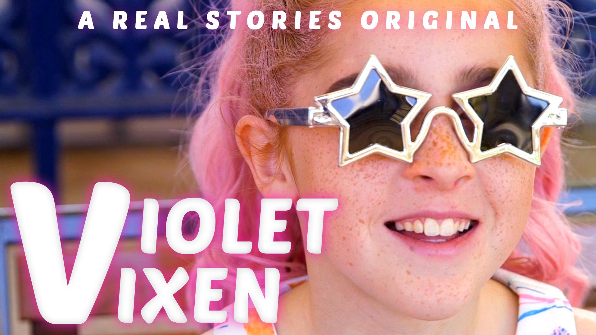 violet vixen poster real stories original documentary
