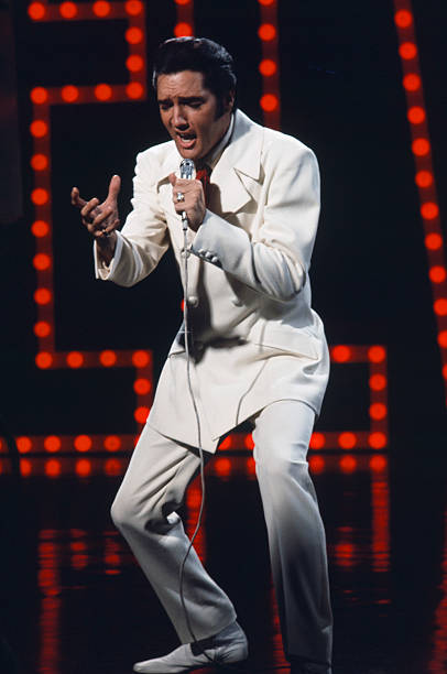 elvis 68 comeback special costume white suit