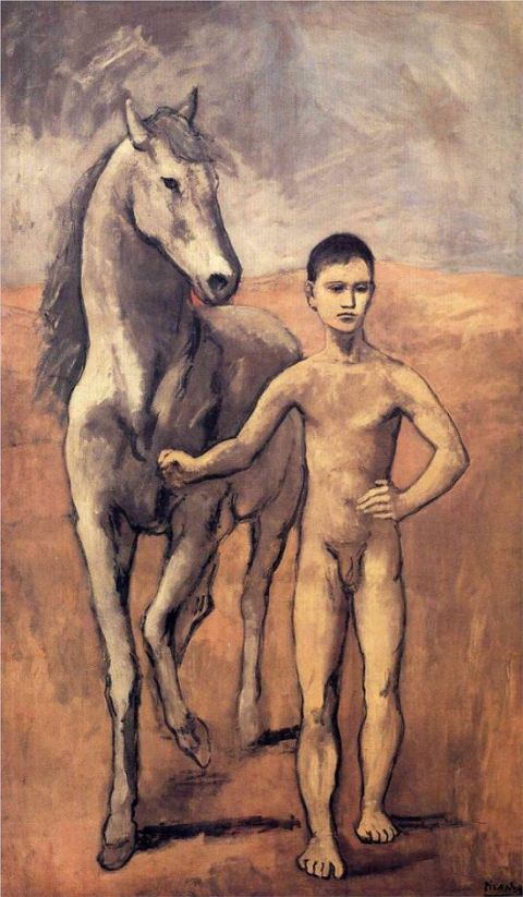 Boy Leading a Horse (1906) picasso
