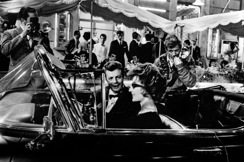Via Veneto in La Dolce Vita (1960)