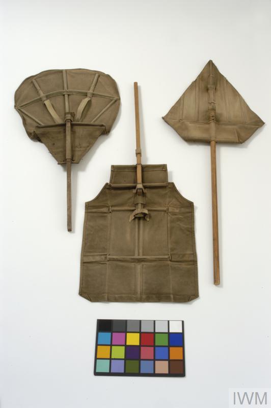 Ayrton anti-gas fan [Imperial War Museum]