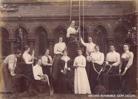 Girton Girls Fire Brigade formed in 1878