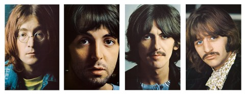 beatles white album portraits