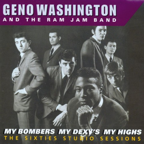 geno washington ram jam band my bombers lp cover design