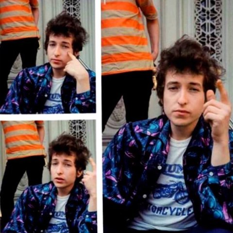 highway 61 revisited photo session bob dylan bobby neuwirth LP cover