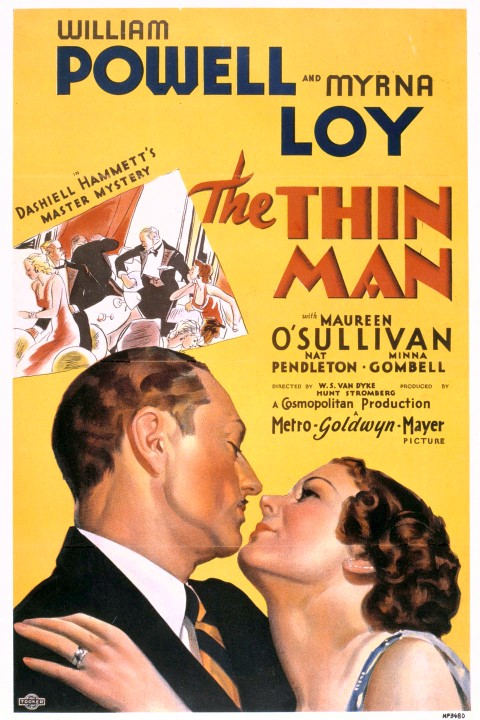 the thin man movie poster 1934