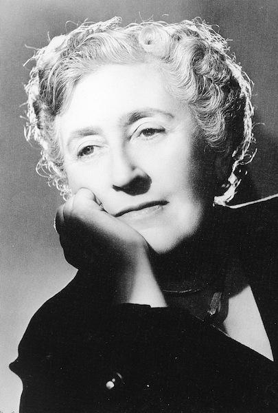 Agatha Christie writer author novelist