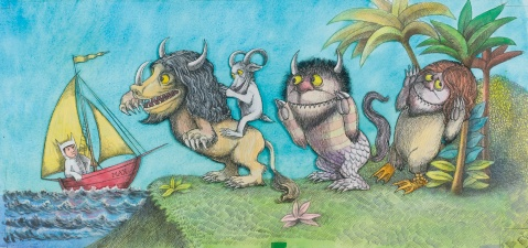 where the wild things are maurice sendak book childrens
