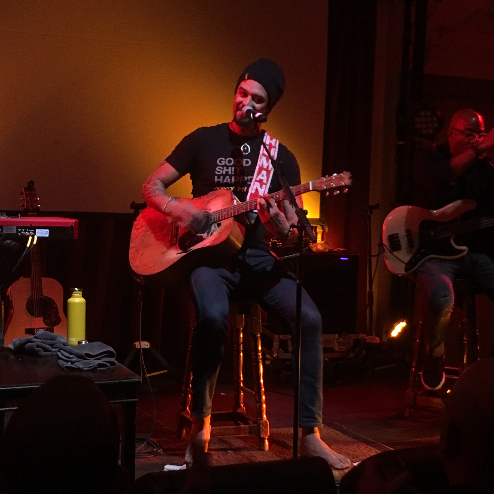michael franti at bush hall london 15 January 2019