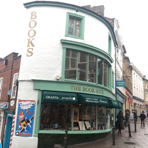 The Book hive book shop store norwich