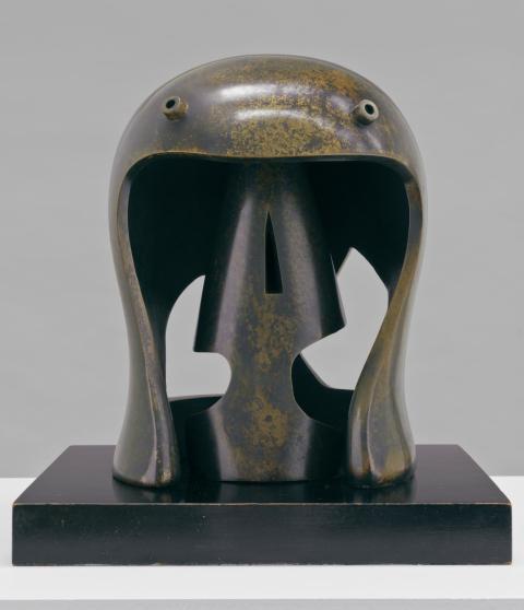 'Helmet Head No.1', Henry Moore OM, CH, 1950