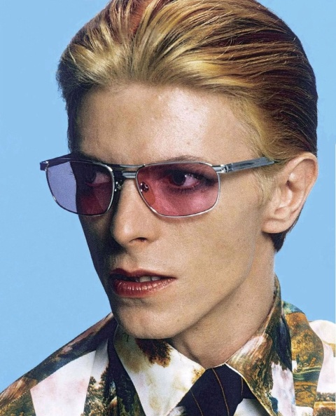 david bowie singer glasses