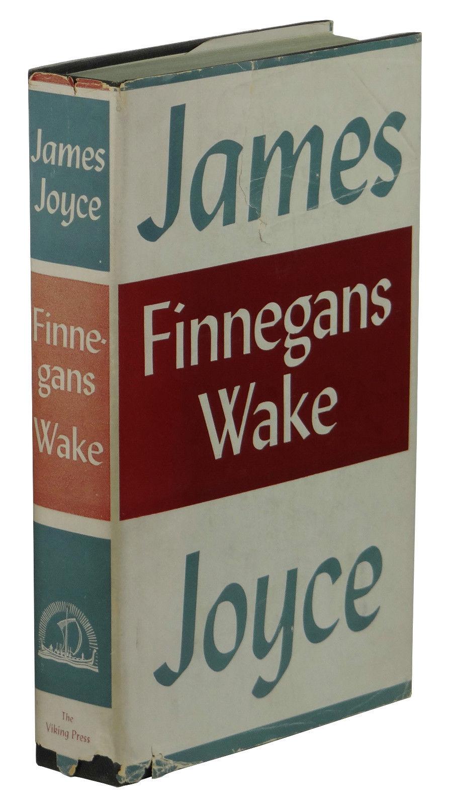 finnegans wake james joyce 1st edition
