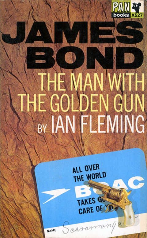 james_bond_13_the_man_with_the_golden_gun ian fleming book cover design