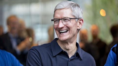 Tim Cook apple CEO boss