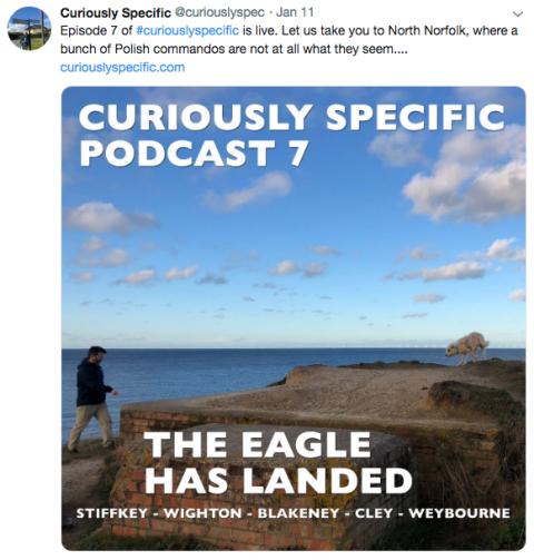 Curiously Specific podcast episode 7