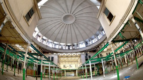 Museum of London moves to Smithfield Market