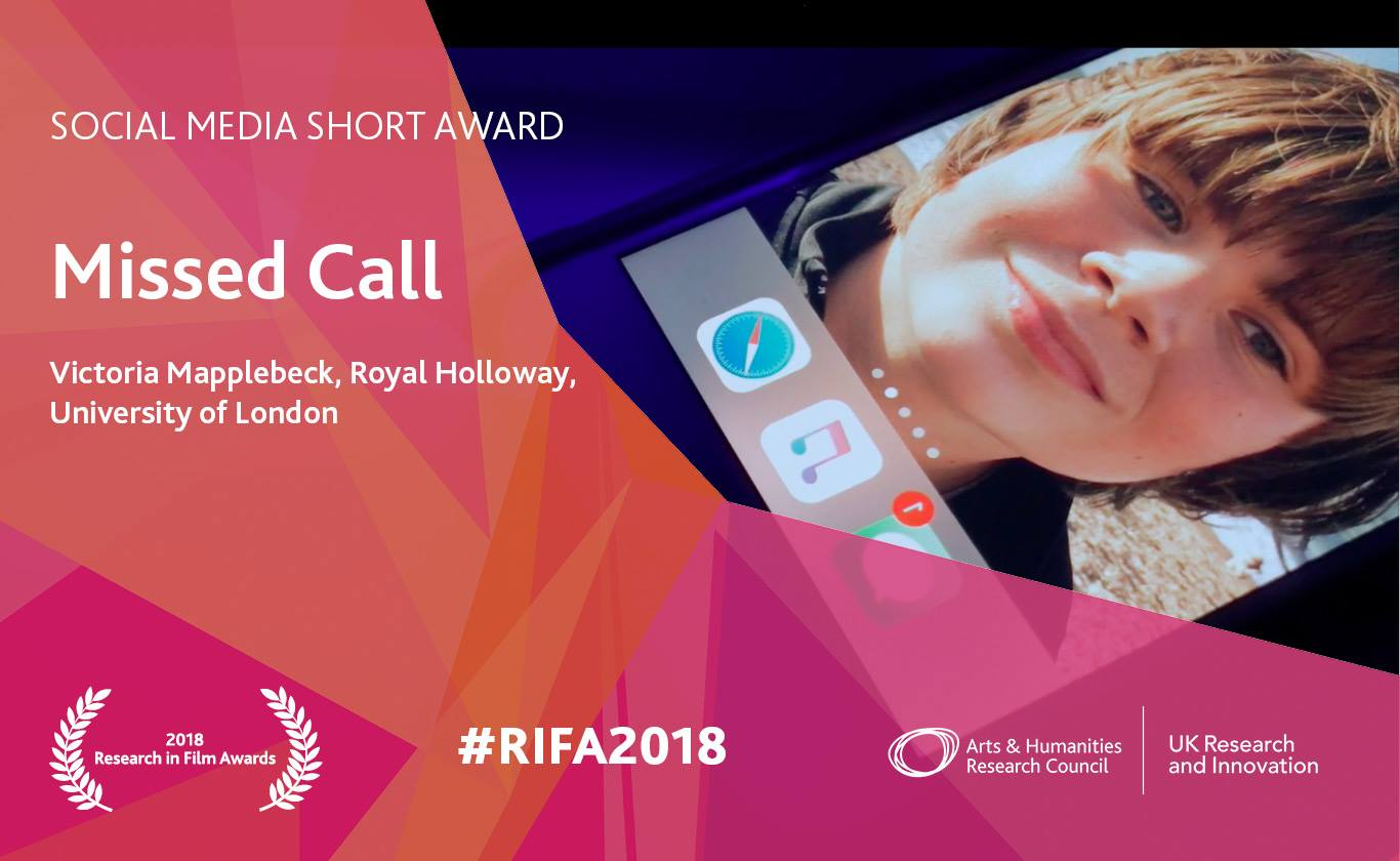missed call research in film award 2018