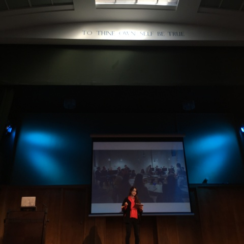 Alison Kobayashi at the story 2019 conway hall london say something bunny