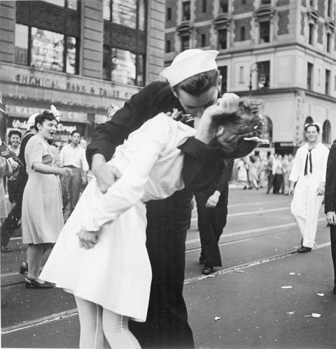 Kissing_the_War_Goodbye photograph by Victor Jorgensen