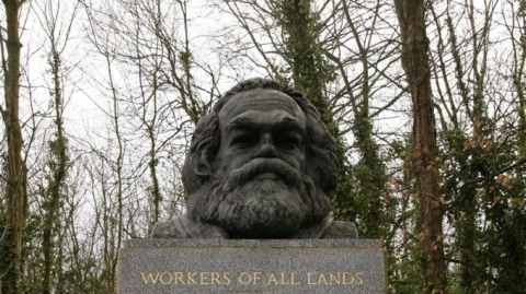 tomb of karl marx highgate cemetery london
