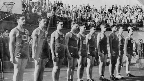 1948 olympics GB basketball team lionel price