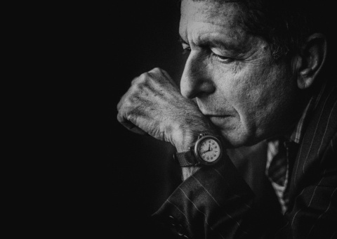 Leonard Cohen singer poet world tour of the LP 'The Future'