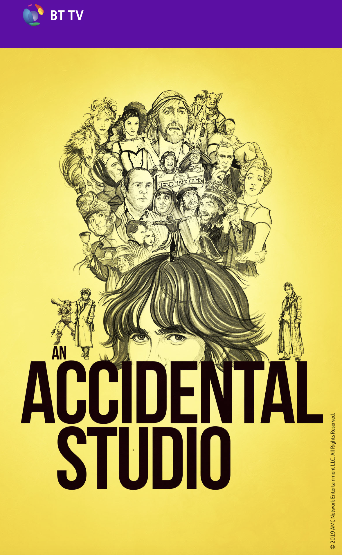 accidental studio email about handmade films documentary bt amc