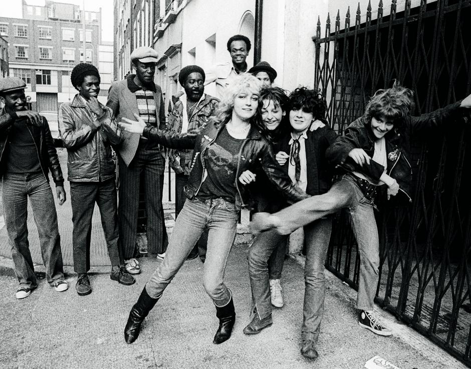 the SLITS punk band