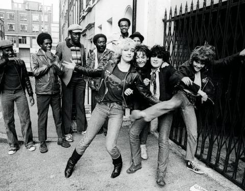 the SLITS punk band