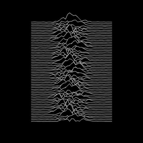 unknown pleasures LP record vinyl cover