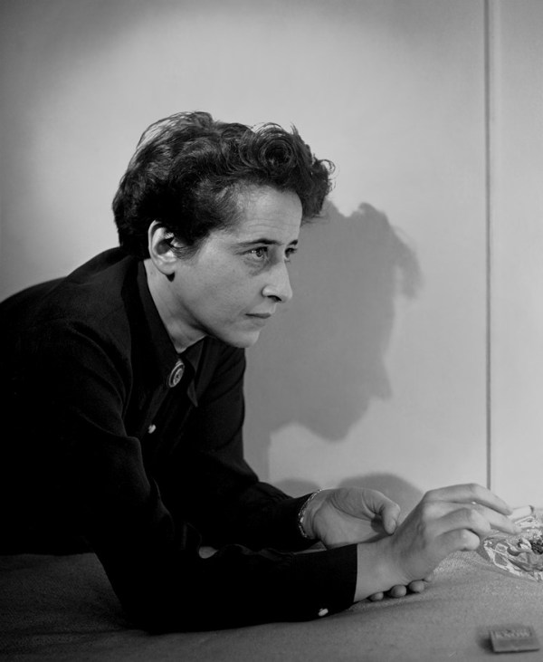 Hannah Arendt by Fred Stein, 1944 (Photograph courtesy of the Fred Stein Archive)