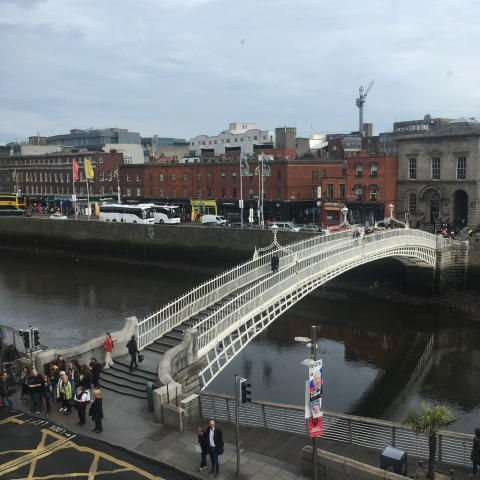 iew from The Winding Stair restaurant Dublin