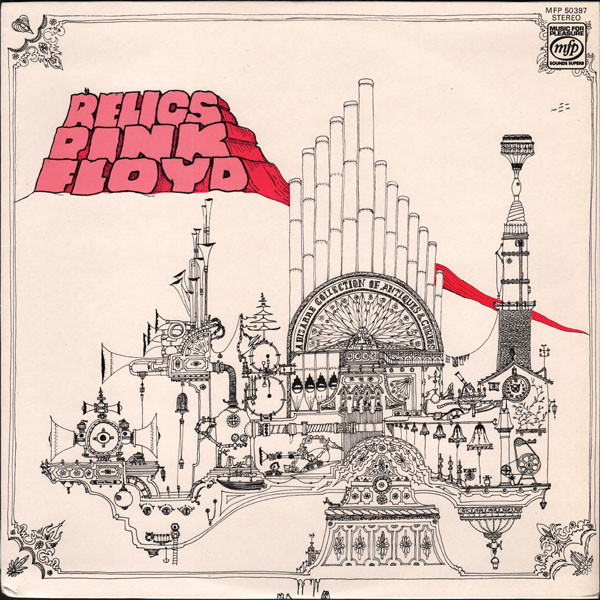 relics pink floyd album cover record 1971