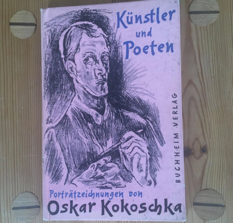 oskar kokoschka kunstler und poeten book cover design