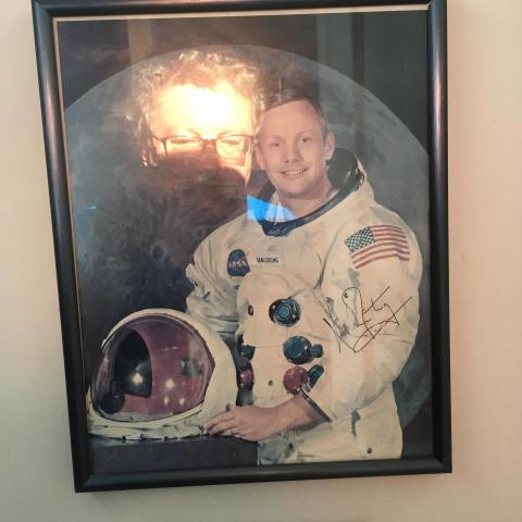 neil armstrong portrait photograph NASA