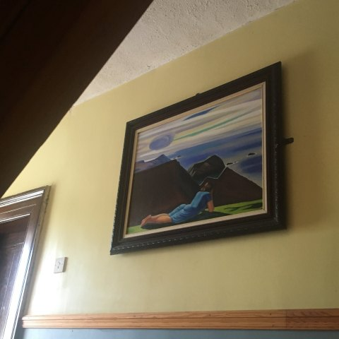 copy of annie mcginley painting by rockwell kent