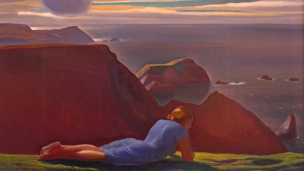 annie mcginley rockwell kent painting glencolmcille donegal ireland