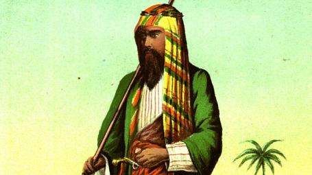 richard francis burton as arab